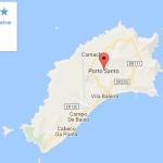 Mapa de Porto Santo