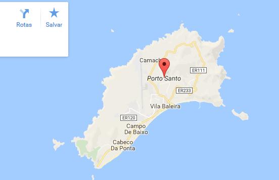 porto santo mapa Visit Porto Santo   Madeira porto santo mapa