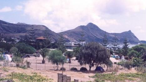 parque campismo de Porto Santo